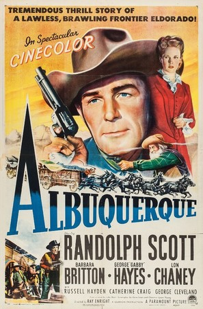 Albuquerque - Movie Poster (thumbnail)