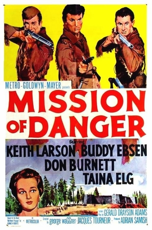 Mission of Danger - Movie Poster (thumbnail)