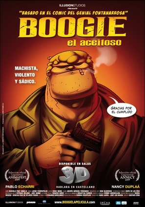 Boogie al aceitoso - Argentinian Movie Poster (thumbnail)