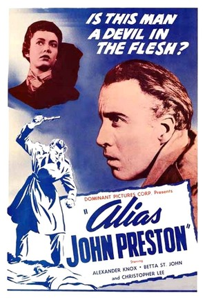 Alias John Preston - British Movie Poster (thumbnail)