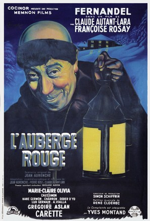 Auberge rouge, L' - French Movie Poster (thumbnail)