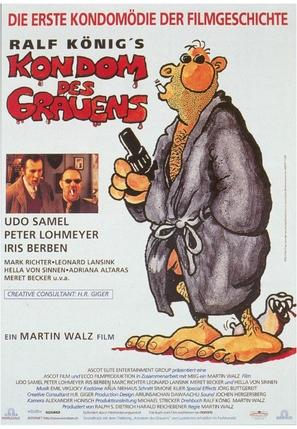 Kondom des Grauens - German Movie Poster (thumbnail)