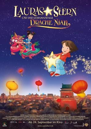Lauras Stern und der geheimnisvolle Drache Nian - German Movie Poster (thumbnail)