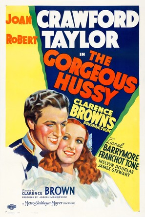 The Gorgeous Hussy - Movie Poster (thumbnail)
