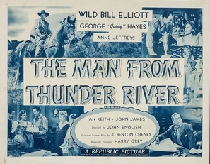 The Man from Thunder River - Movie Poster (thumbnail)