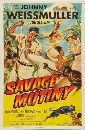 Savage Mutiny - Movie Poster (thumbnail)