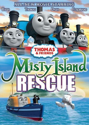 Thomas & Friends: Misty Island Rescue - DVD cover (thumbnail)