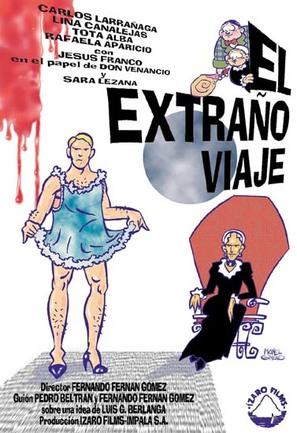 El extraño viaje - Spanish Movie Poster (thumbnail)