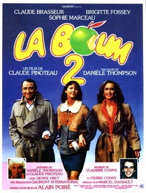 La boum 2 - French Movie Poster (thumbnail)
