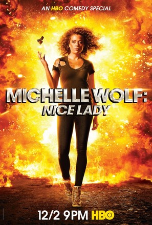 Michelle Wolf: Nice Lady - Movie Poster (thumbnail)