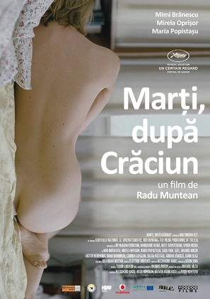 Marti, dupa craciun - Romanian Movie Poster (thumbnail)