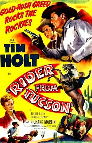 Rider from Tucson - Movie Poster (thumbnail)