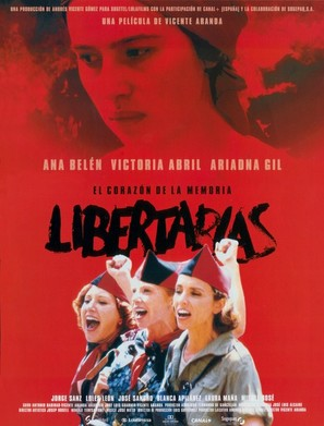 Libertarias - Spanish Movie Poster (thumbnail)