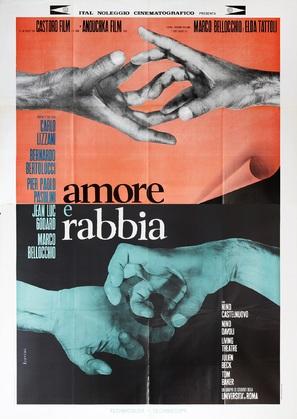 Amore e rabbia - Italian Movie Poster (thumbnail)