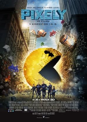 Pixels - Czech Movie Poster (thumbnail)