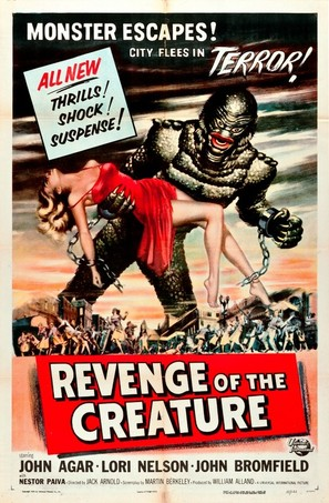 Revenge of the Creature - Movie Poster (thumbnail)