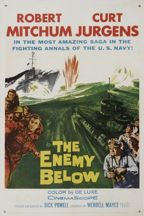The Enemy Below - Movie Poster (thumbnail)