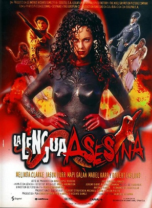 La lengua asesina - Spanish Movie Poster (thumbnail)
