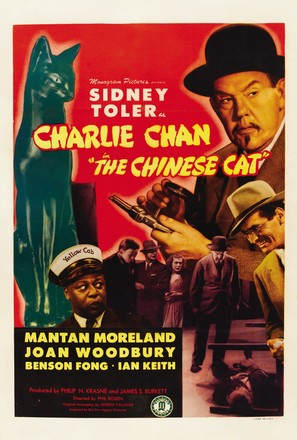 Charlie Chan in The Chinese Cat - Movie Poster (thumbnail)
