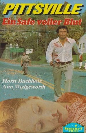 Pittsville - Ein Safe voll Blut - German VHS movie cover (thumbnail)