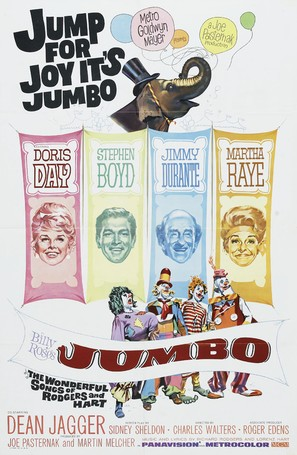 Billy Rose's Jumbo - Movie Poster (thumbnail)