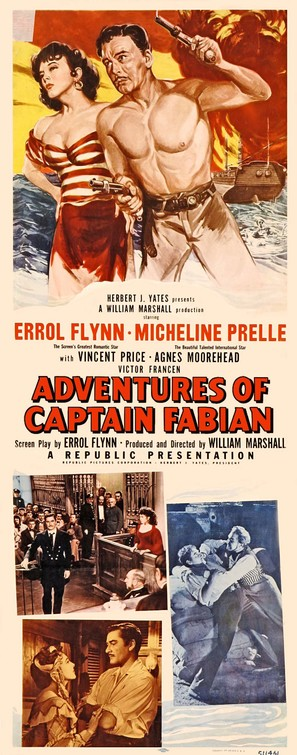 Adventures of Captain Fabian - Movie Poster (thumbnail)