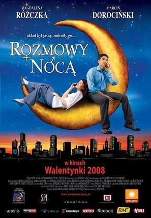 Rozmowy noca - Polish poster (thumbnail)