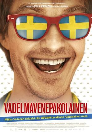 Vadelmavenepakolainen - Finnish Movie Poster (thumbnail)