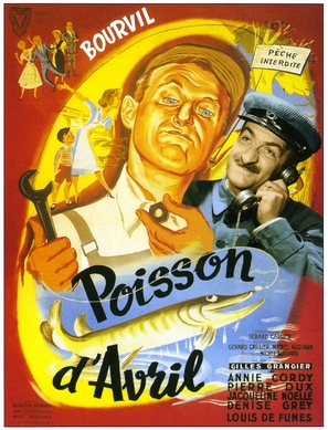Poisson d'avril - French Movie Poster (thumbnail)