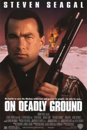On Deadly Ground - Movie Poster (thumbnail)