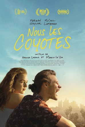 Nous Les Coyotes - French Movie Poster (thumbnail)
