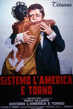 Sistemo l'America e torno - Italian Movie Poster (thumbnail)