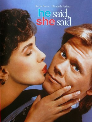 He Said, She Said - DVD cover (thumbnail)