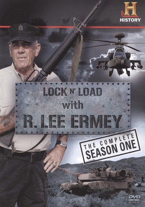 """Lock 'N Load with R. Lee Ermey"" - DVD movie cover (thumbnail)"