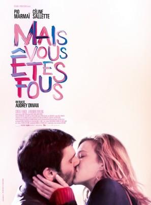 Mais vous êtes fous - French Movie Poster (thumbnail)