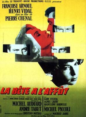 La bête à l'affût - French Movie Poster (thumbnail)