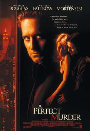 A Perfect Murder - Movie Poster (thumbnail)