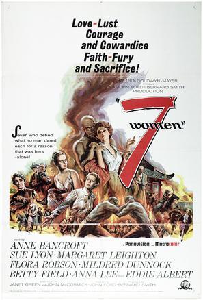 7 Women - Movie Poster (thumbnail)