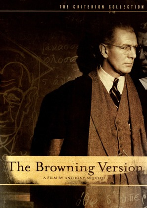 The Browning Version - DVD movie cover (thumbnail)