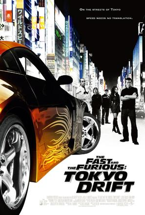 The Fast and the Furious: Tokyo Drift - Movie Poster (thumbnail)