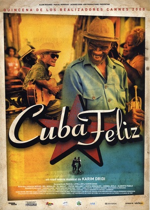 Cuba feliz - South Korean Movie Poster (thumbnail)