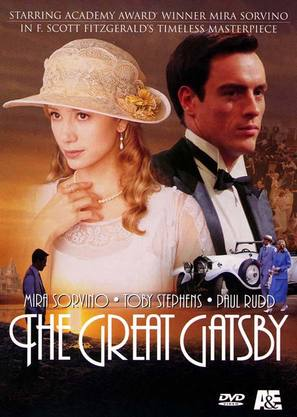 The Great Gatsby - DVD movie cover (thumbnail)