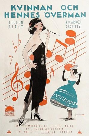 Children of Jazz - Swedish Movie Poster (thumbnail)