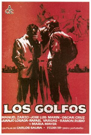 Los golfos - Spanish Movie Poster (thumbnail)
