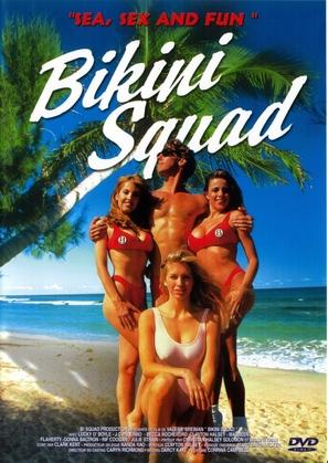 Bikini Squad - French DVD cover (thumbnail)