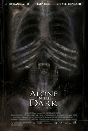 Alone in the Dark - Movie Poster (thumbnail)