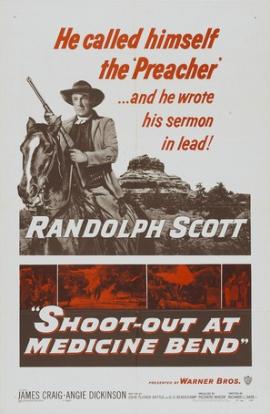Shoot-Out at Medicine Bend - Movie Poster (thumbnail)