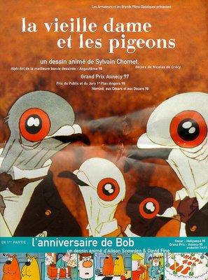 Vieille dame et les pigeons, La