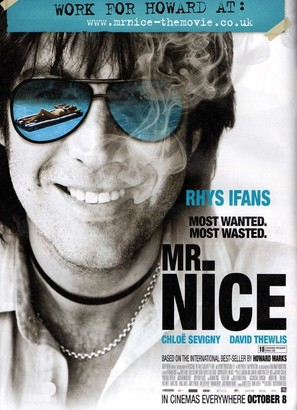 Mr. Nice - British Movie Poster (thumbnail)