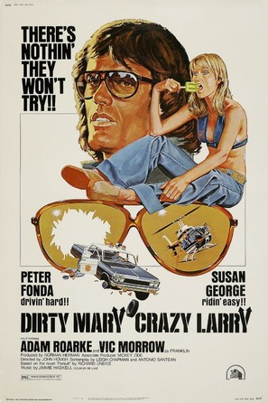 Dirty Mary Crazy Larry - Theatrical poster (thumbnail)